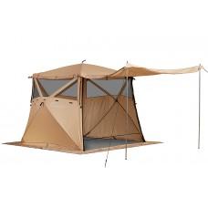 Кухня-шатер HIGASHI Pyramid Camp Sand (230х230х200)