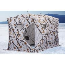 Зимняя палатка HIGASHI Double Winter Camo Comfort (360×180×205)