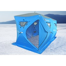Утеплённая зимняя палатка HIGASHI Double Comfort Pro (360×180×205)
