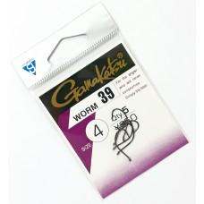 Крючок Gamakatsu Worm 39 Size: 4