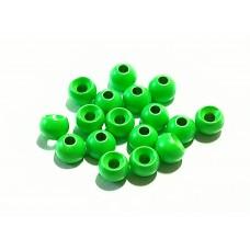 Шар вольфрамовый  4,5 мм, зелёный (флуоресцентный)