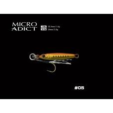 Пилькер LITTLE JACK Micro Adict 2g #05