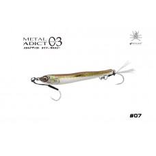 Пилькер LITTLE JACK Metal Adict Type-03 40g